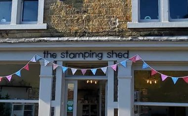 The Stamping shed, how it all began…..